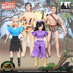 Tarzan Action Figures